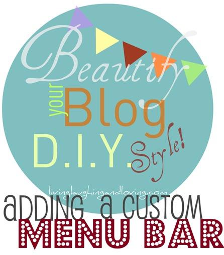 beautifyyourblog menu bar