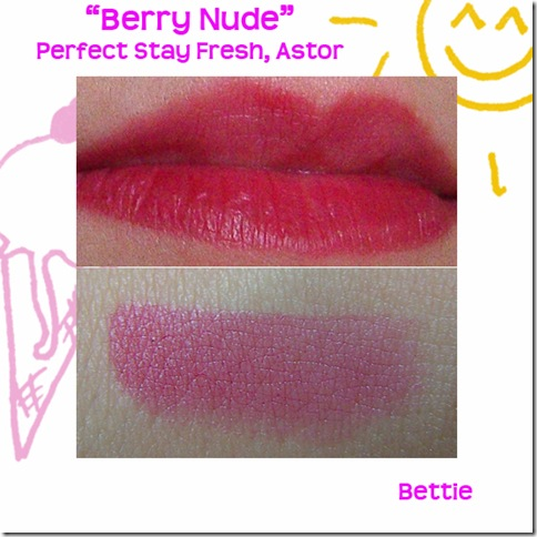 berry nude collage