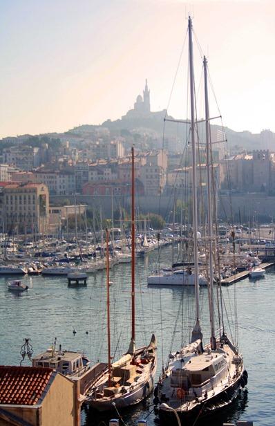 Marseille Port Boat