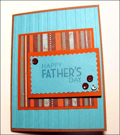 Fathers Day Card for Dad 2012