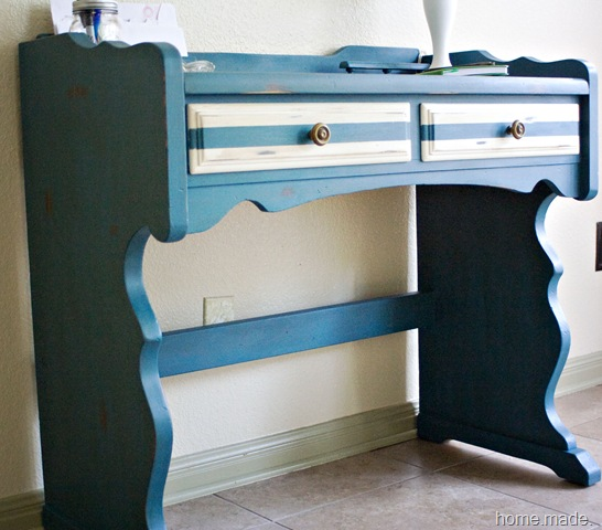 aubosson blue desk