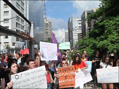 manifestação contra Marco feliciano 05