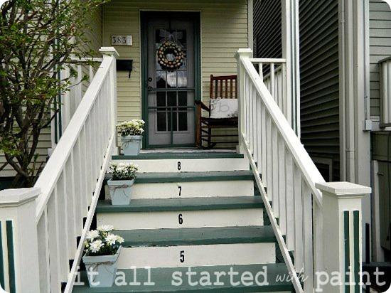 Spring front porch midrange