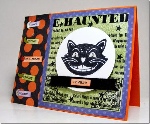 LeAnne Pugliese WeeInklings ColourQ264 Black Cat