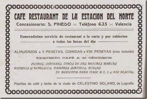 restaurante estacion norte