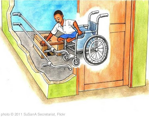 'Accessible latrine features (Tanzania)' photo (c) 2011, SuSanA Secretariat - license: http://creativecommons.org/licenses/by/2.0/