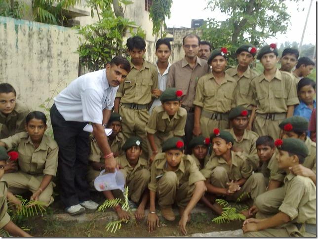 GHS Tejli_Tree Plantation_2