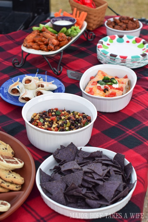 Texas Tailgating Tex mex recipe ideas for tailgating