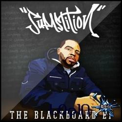 Capa do CD Supastition - The Blackboard - EP