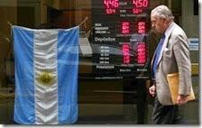 Argentina a rischio default