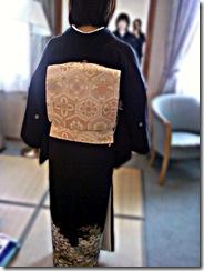 黒留袖出張着付け (1)
