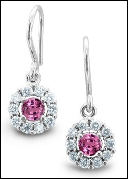 You Should Also Choose Any of Pink Sapphire Earrings As a Gift