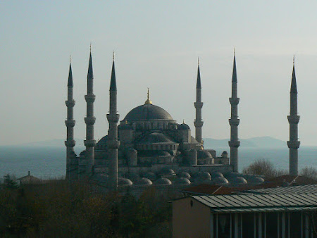 Obiective turistice Turcia: Moscheea Albastra Istanbul