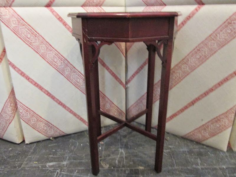 Octagonal Sidetable