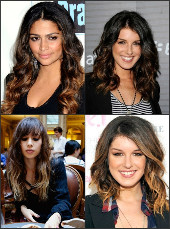 dark_ombre_hair_collage