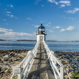 Marshall Point Light Station, Maine by Martin Belan - Buildings & Architecture Public & Historical ( maine, lighthouses, pier lighthouse, marshall point light station, new england lighthouses )