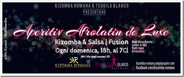 """""""Aperitif Afrolatin de Luxe"""", con piatti tipici, lezioni di Salsa, Kizomba, Bachata & Kuduro"""