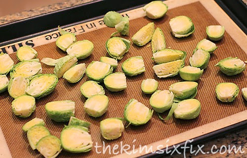 Brussels sprout baked