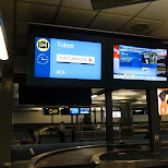 awaiting for bagage at Vancouver International Airport in Vancouver, British Columbia, Canada