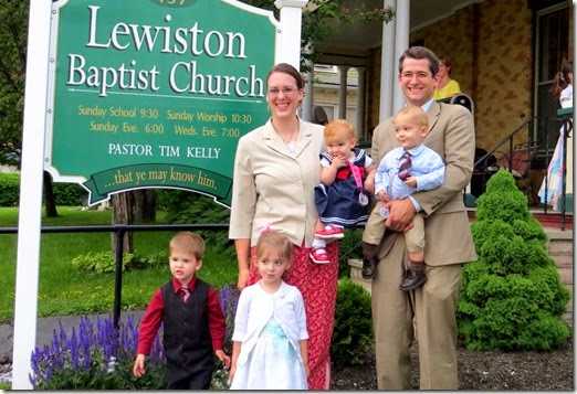 With the Kelly Family in Lewiston ME