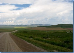 1167 Alberta - gravel roads between Head-Smashed-In Buffalo Jump Interpretive Centre and Pincher Creek