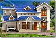 house-blue-roof