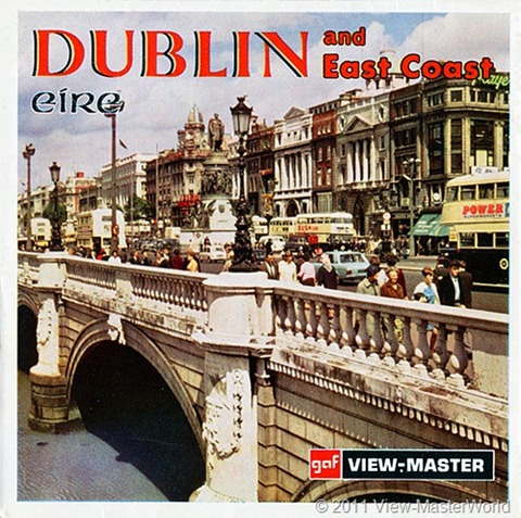View-Master Dublin Eire and East Coast (C344), Packet Cover