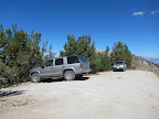 After 2.5mi, we arrived to the end of the trail just above deadman pass. A use trail continues from this point to Deadman Pass, Two Teats, and San Joaquin Mountain