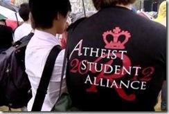 Американские атеисты протестуют против религиозного мракобесия