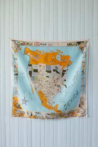 Texas scarf. (Martha Stewart Living, July 2010)