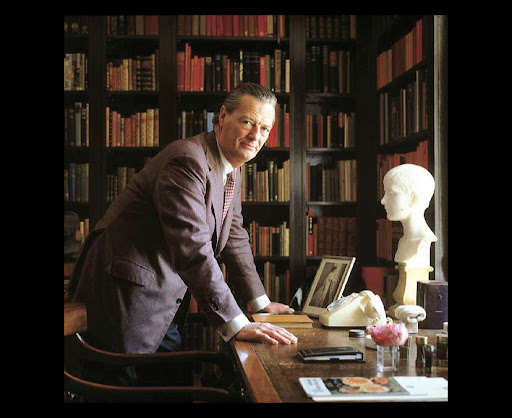 David Hicks -- an iconic British decorator and designer.