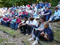 2004. De eindejaarsviering in het openluchttheater in het Laarbos in Ommen (2)