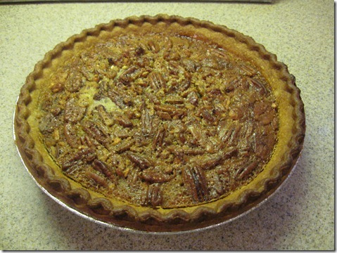 ham and potato soup and pecan pie 004