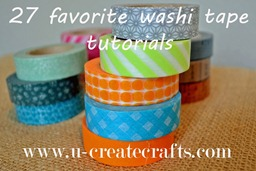 Favorite Washi Tape Tutorials