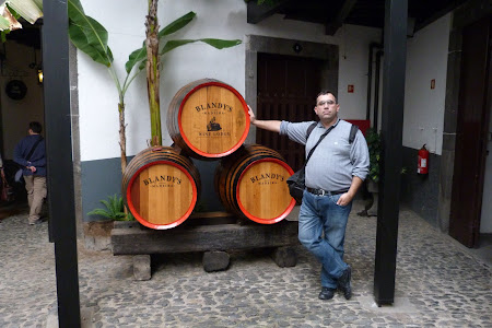 Obiective turistice Funchal: Blandy's vin de Madeira