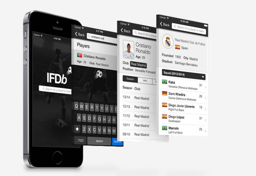 Ifdb international football database ios