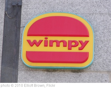 'Signs on the former Megabowl, Pershore Street, Birmingham - Wimpy - sign' photo (c) 2010, Elliott Brown - license: http://creativecommons.org/licenses/by/2.0/