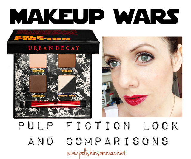 Makeup Wars - Urban Decay Pulp Fiction Palette