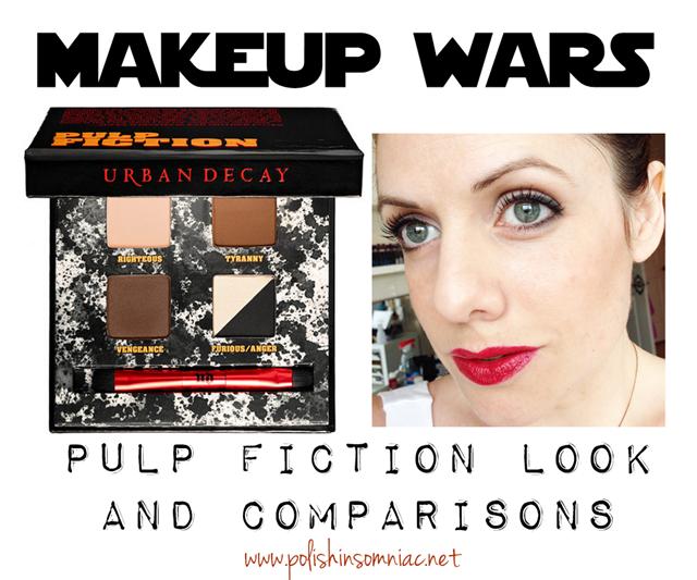 Makeup Wars - Urban Decay Pulp Fiction Palette