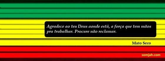 capa facebook reggae mato seco