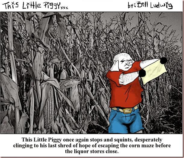 Piggy Corn Maze