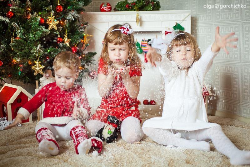 Детский новогодний фотопроект Рождественские мечты. 30. Саша, Маша, Дарина-1024