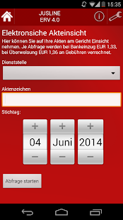 JUSLINE ERV WT - screenshot