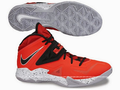 nike zoom soldier 7 gr red grey 2 01 Two New Possible Nike Zoom Soldier VII Colorways