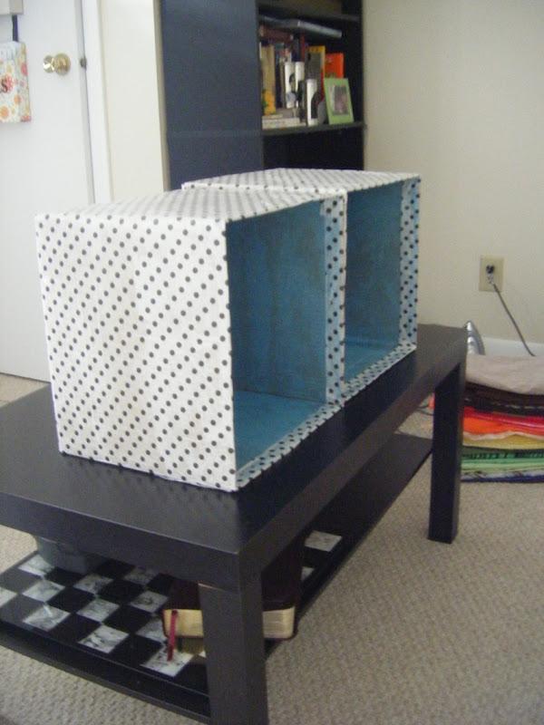 Cardboard Storage Cubes | allonsykimberly.com
