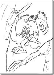 desenhos para colorir do Ben 10 fera besta