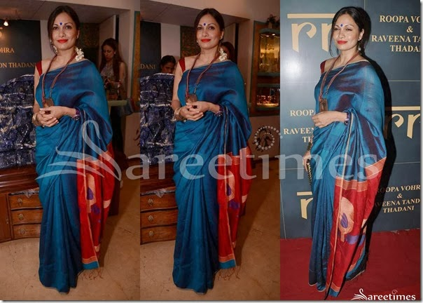 Maria_Goretti_Blue_Traditional_Silk_Sari