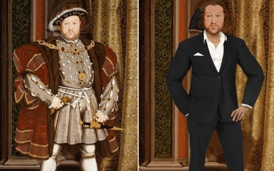 MEET HENRY VIII Ð THE MODERN DAY LADYKILLER<br />Henry VIII has been magically transported to the 21st Century via a unique art project commissioned by TV channel Yesterday to celebrate its new historical series Secret Life OfÉ. starting on Thursday 2nd May at 9pm. <br />A team of digital artists from the channel spent three months updating a series of classic portraits - working closely with award-winning historian Dr Suzannah Lipscomb to ensure the new artworks accurately reflect how the historical figures might look in 2013.  <br />Adrian Wills, General Manager of Yesterday commented:<br />ÔSecret Life OfÉ takes a completely new perspective on the lives on some of historyÕs most fascinating and notorious figures. Henry VIII, Elizabeth I, Shakespeare, Marie Antoinette and Nelson are among the iconic personalities whose lifestyles and habits are dissected through the eyes of the contemporary, celebrity-obsessed world.  These great characters are reimagined with a modern take, showing them in a completely different light - much like the new re-versioned portraits.Õ