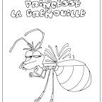 coloriages du film la princesse et la grenouille ray la luciole