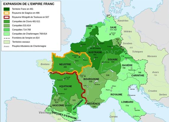 Aquitània Neustria Borgonha